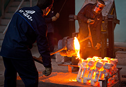 foundry & heat-treatment workshop